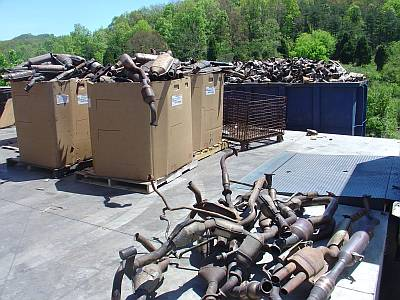 catalytic converters scrap